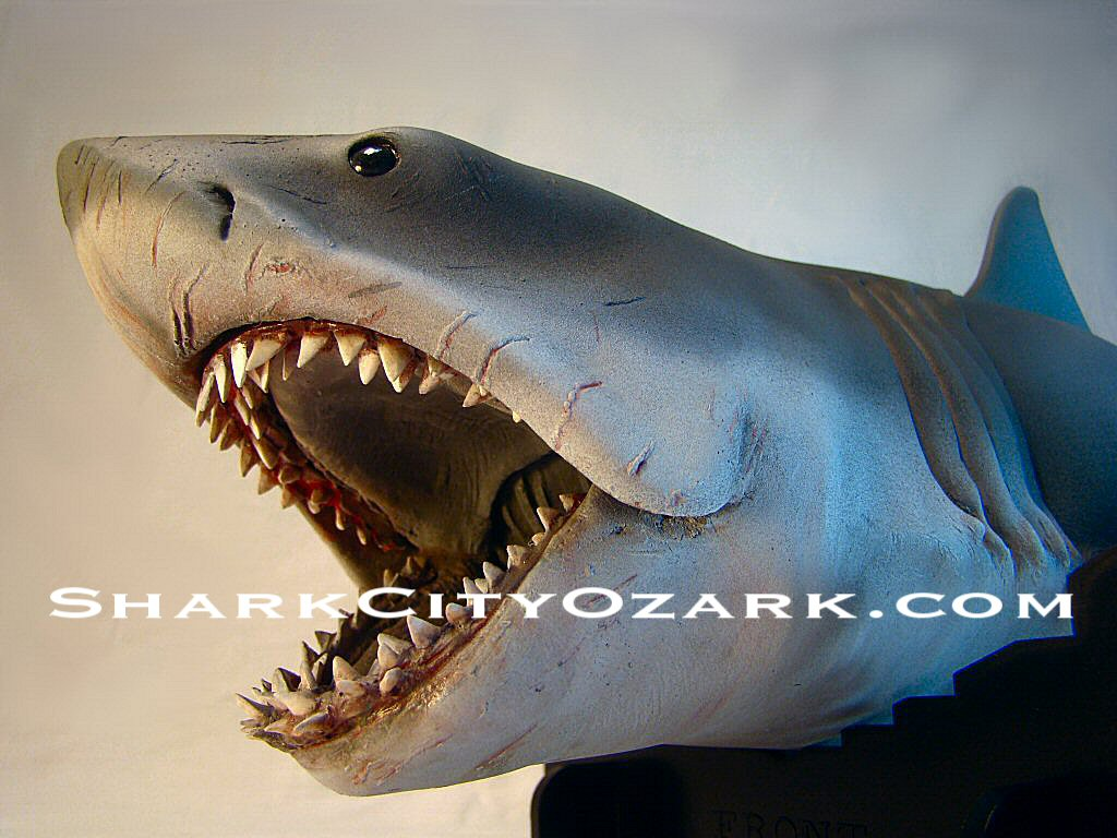 Jaws mechanical shark
